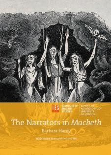 Cover for The Narrators in Macbeth: Hilde Hulme Lecture Series